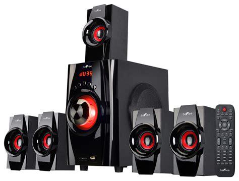 befree sound  channel bluetooth speaker system black
