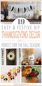 19 Simple DIY Thanksgiving Decorations