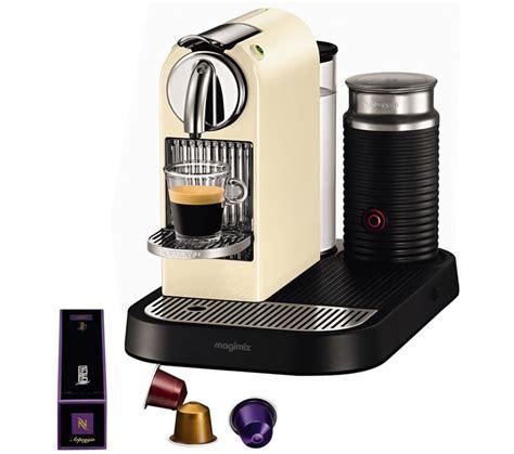 Found a great coffee machine or handy little tip to make a killer coffee? 11301 Nespresso CitiZ & Milk Coffee Machine - Cream | Coffee machine nespresso, Nespresso ...