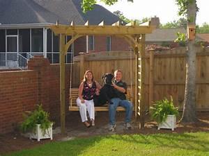 Pergola Swing Arbor Plans : Pergola Swing Plans Images