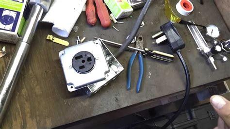 Everlast I-mig 200 (part 3 = Installing A 220v Outlet