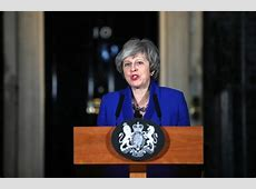 Parliament rejects EU withdrawal agreement, Theresa May