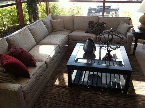 ethan allen sectional sofas home decor