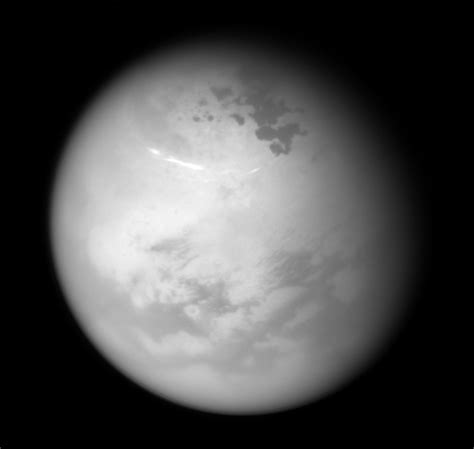 Titan S by Nasa S Cassini Spacecraft Views Northern Summer On Titan