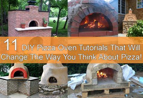 diy pizza oven tutorials diycraftsguru