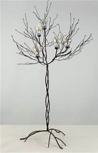 metal twig tree design decoration With kitchen cabinets lowes with metal twig tree candle holder