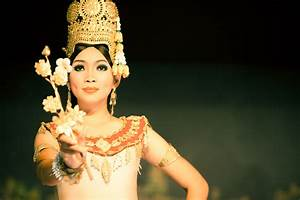 Apsara Flower Dancing - Photos of Cambodia and South East Asia
