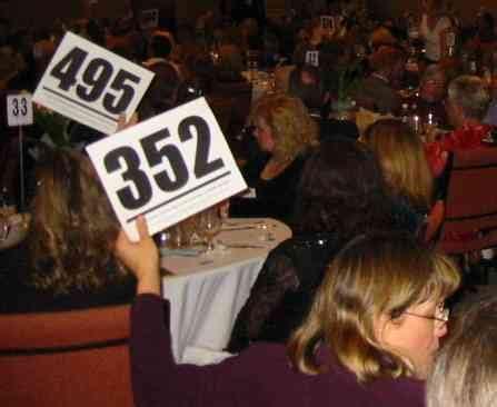 live bid auction northwest benefit auctions bid cards
