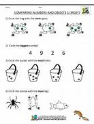 Pre Kindergarten Math Worksheets Comparing Numbers And Size Free Online Kids Worksheets Print Free Worksheets For Kids For Pre K Pre K Reading Worksheets Pre K Handwriting Worksheets Pre K Math Worksheets Matching 6 To 10