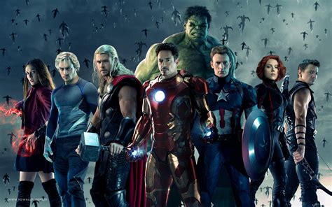 Comparisons Of Avengers-age Of Ultron Vs. The Avengers