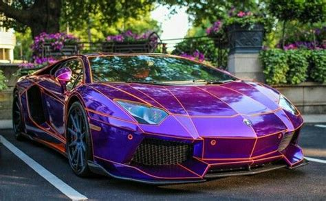 , taken with an gran turismo 5 04/01 2017 the picture taken with 93.0mm, f/2.8s, 1/250s Beautiful purple sports car | Lamborghini cars ...