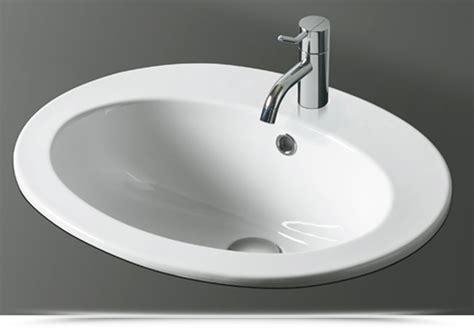 lavelli ad incasso lavabo ad incasso design in ceramica monoforo simas desmo