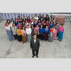 The World's Biggest Family Ziona Chan Has 39 Wives, 94 Children And 33 Grandchildren Daily