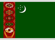 Turkmenistan Flag Pictures