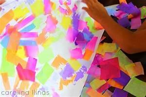 Arte con papel seda #Artividades
