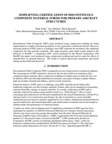 (PDF) Simplifying certification of discontinuous composite ...