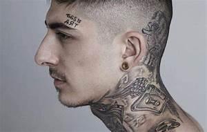 Tatouage Cou Homme : tatouage cou young planneur ~ Nature-et-papiers.com Idées de Décoration