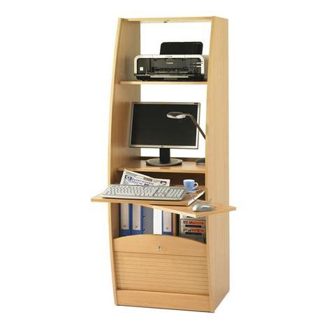 bureau 60 cm de large armoire informatique galbee largeur 60 cm beaux meubles