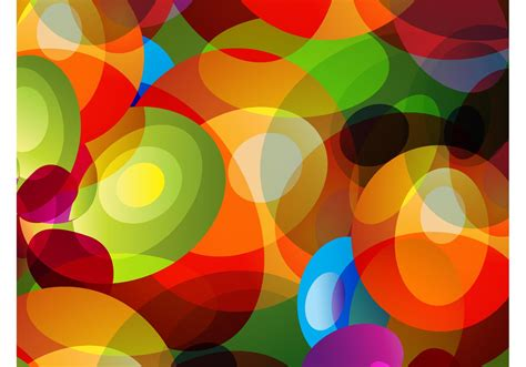 colorful circles background   vector art