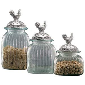 clear glass kitchen canister sets clear glass kitchen canister set pewter