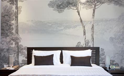 des papiers peints panoramiques pour la chambre à coucher