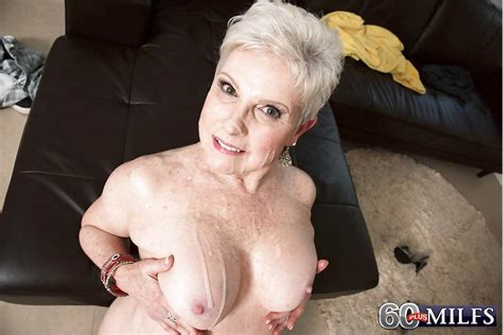 #Short #Haired #Granny #Gives #Big #Cock #A #Blowjob #And #Takes