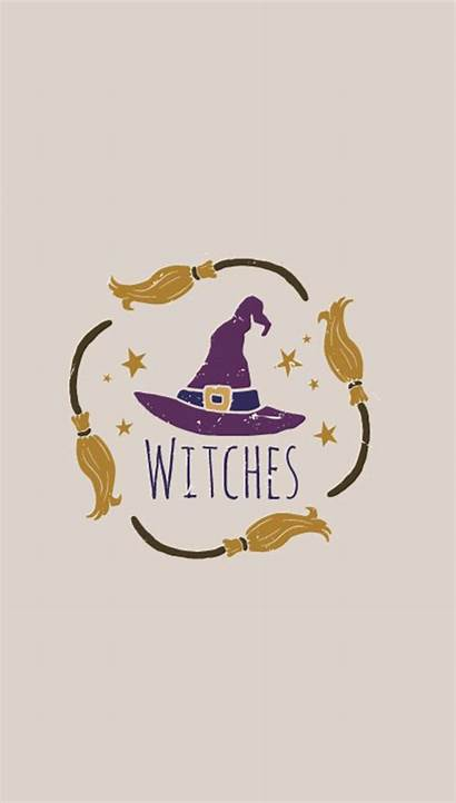 Witchy Backgrounds Iphone Halloween Fall Witch Quote