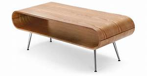 Made Com Table Basse : hooper coffee table with storage in natural ash ~ Dallasstarsshop.com Idées de Décoration