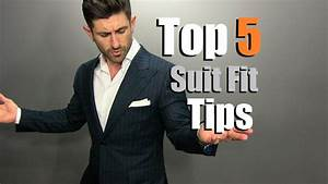 TOP 5 Suit Fit Tips | How To Buy A PERFECT Fitting Suit ...