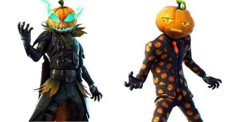 amazing leaked halloween skins  fortnite