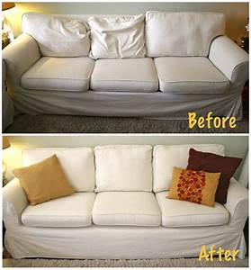 Here's How to Make Your Sagging Couch Cushions Look Plump