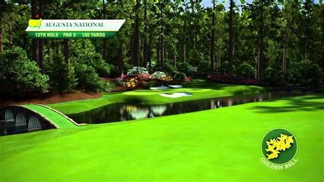 Course Flyover: Augusta National Golf Club's 12th Hole