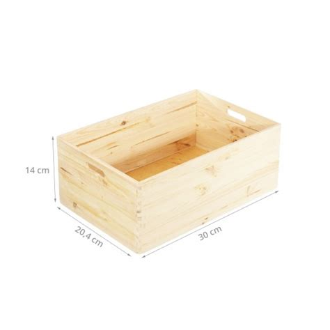 fabriquer des boites de rangement en caisse de rangement en bois empilable pin fsc