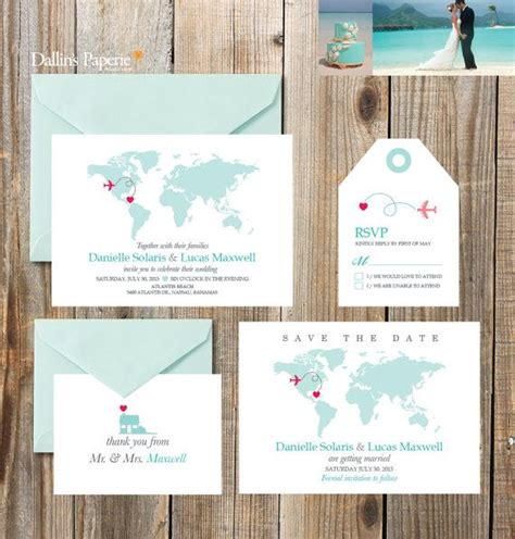 destination wedding invitation printables beach wedding