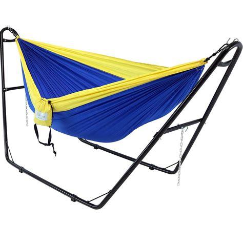 Free Standing Hammock by Sunnydaze Decor 10 5 Ft Free Standing Parachute 2