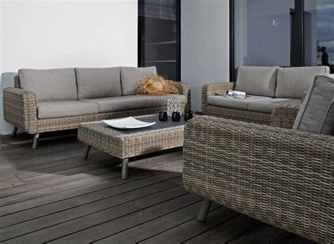canapé de jardin 3 places vigo mobilier de jardin
