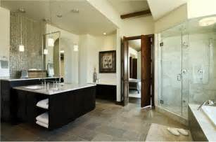 contemporary master bathrooms home designs