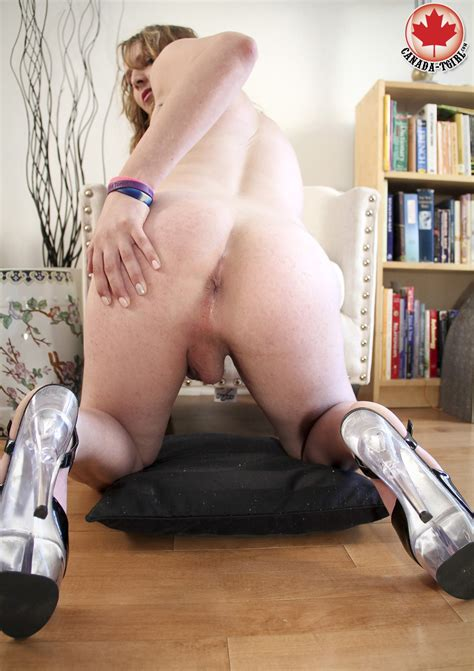 [Canada TGirl] Bambi Bangz is a brand new to modelling tgirl from the downt at dbNaked.com