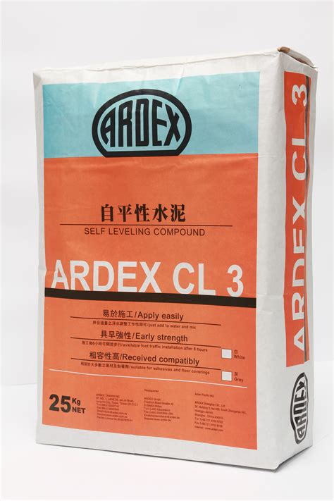 ARDEX CL 3 | Standard Self-leveling & Smoothing Compound ...