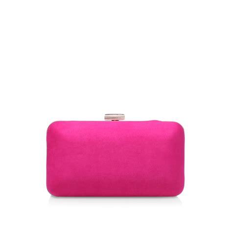 Dori Pink Clutch Bag By Carvela  Kurt Geiger