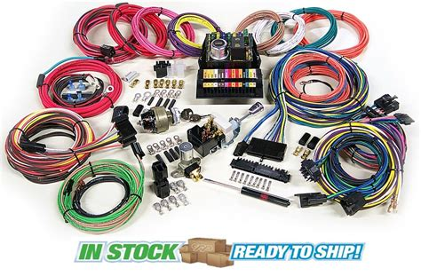 Vintage Car Wiring Harnes by American Autowire Highway 15 Complete Wiring Harness Kit