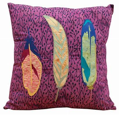 Feather Embroidery Designs Machine Nest Pillow Nonna