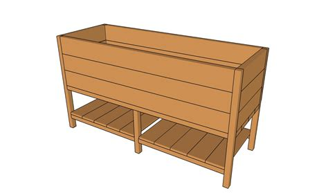 deck planter plans myoutdoorplans  woodworking