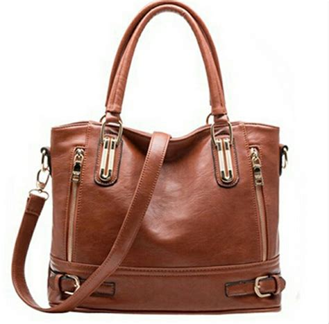Genuine Leather Bags Handbags Women Famous Brands Women