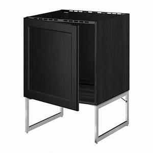 Ikea Unterschrank Spüle : metod unterschrank f r sp le laxarby schwarzbraun ikea ~ Michelbontemps.com Haus und Dekorationen