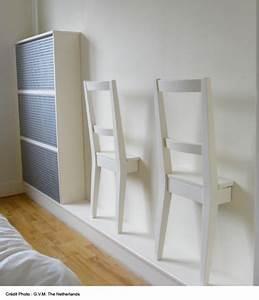 Chaise En Bois Ikea : deco mur chambre avec chaise en bois ikea collee sur le mur ~ Teatrodelosmanantiales.com Idées de Décoration