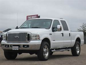2006 Ford Super Duty F-250 Lariat 68k 4wd 4x4 6 0l Diesel Crew Cab Short Bed 6 0