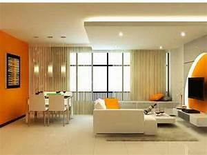 living room orange ideas simple home decoration tips With wall paint designs for living room