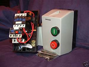 Dol Single Phase Motor Starter C  W Overload Of Choice   Pre