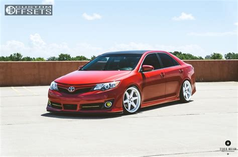 wheel offset 2013 toyota camry flush coilovers custom offsets
